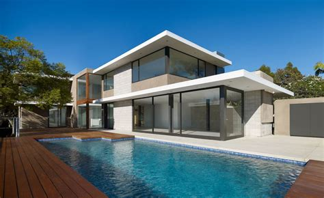 interior exterior plan modern home exterior with swimming pool