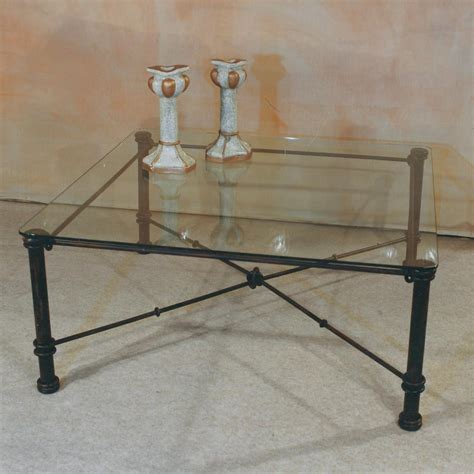 table basse de salon en verre et fer forge table basse en fer forg 233 et verre fabrication fran 231 aise villa m 233 lodie
