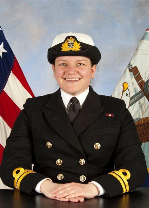 Royal Navy Officer Navigating Us Ship Into Uk Waters