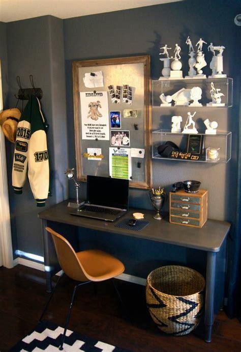 bureau chambre gar輟n 1001 idées pour chambre d ado garçon les intérieurs qui sont d 39 actualité