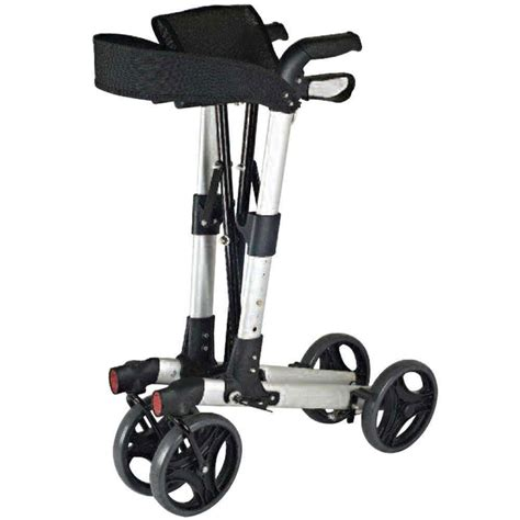 walker seat rollator compact folding walking wheels easy foldable wheeled aid wheel nrs four disability mobility nitro healthcare rollators aids