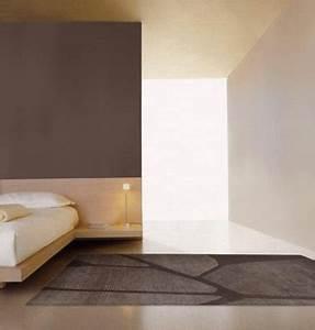 chambre taupe et couleur lin idees deco ambiance zen With conseil pour peindre un mur 13 chambre taupe et couleur lin idees deco ambiance zen