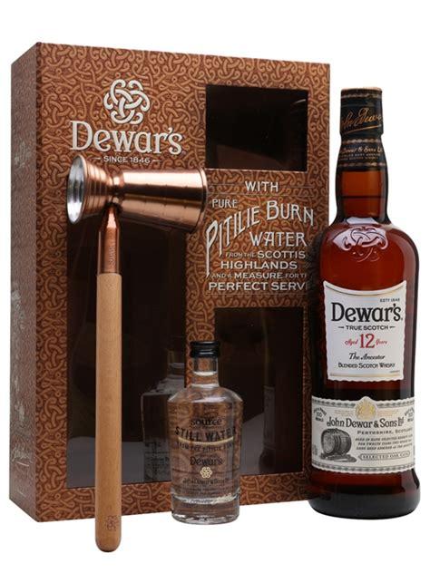 dewars  year  water gift pack  whisky exchange