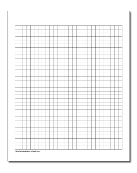 Free Printable Graph Paper With Coordinate Plane  Printable Pages