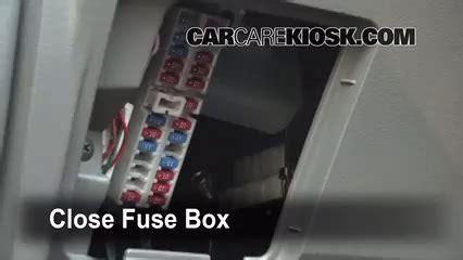 Fuse Box For 2009 Nissan Murano by Interior Fuse Box Location 2003 2007 Nissan Murano 2004