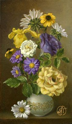 peinture bouquet de fleurs moderne 1000 images about yellow and purple on pansies purple and yellow