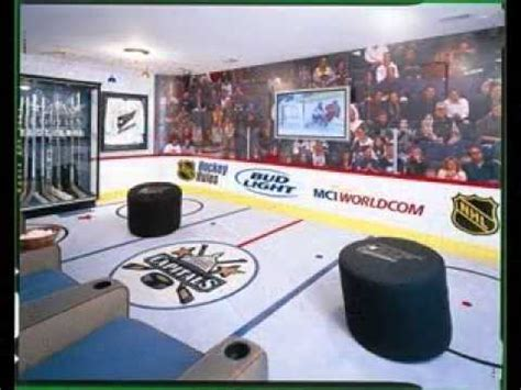 diy hockey bedroom design decorating ideas youtube