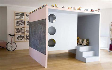 cabane pour chambre lit mezzanine pour chambre d enfant
