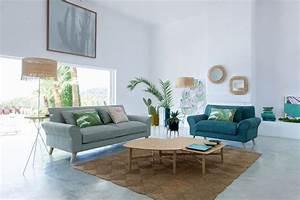 amenager le salon les 5 regles a connaitre cote maison With tapis de yoga avec canapé deux personnes