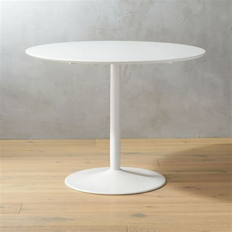 White Table by Odyssey White Dining Table Cb2