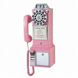 Crosley Radio Pay Wall Phone - So That's Cool