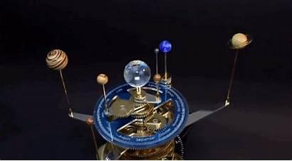 System Solar Mechanical Gifs Mesmerizing Orrery Ken
