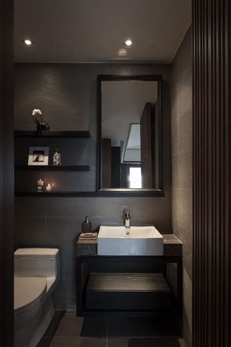 Dark Colored Bathroom Designs With What Color To Paint A