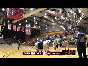 Otterbein Men's Basketball vs Ohio Northern University 1 ...