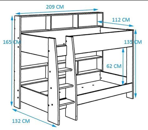 plan pour lit superpose 17 meilleures id 233 es 224 propos de plans de lits superpos 233 s sur lits superpos 233 s de