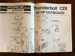 Force Outboards Thunderbolt Cdi Wiring Diagrams 90 Hp