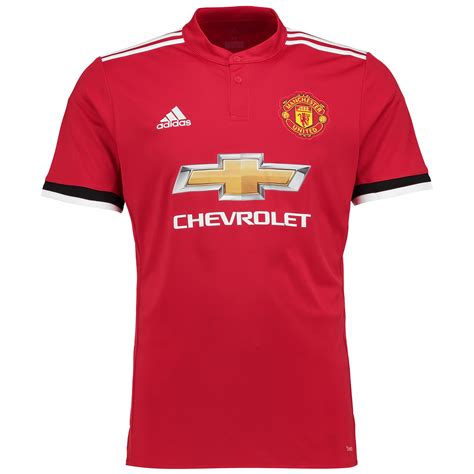 adidas Manchester United Home Shirt 2017-18 Mens Gents ...