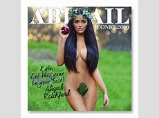 Official Abigail Ratchford Autographed & Personalized 2016