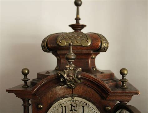 Lenzkirch Mantle Clock, 19th Century, German For Sale At