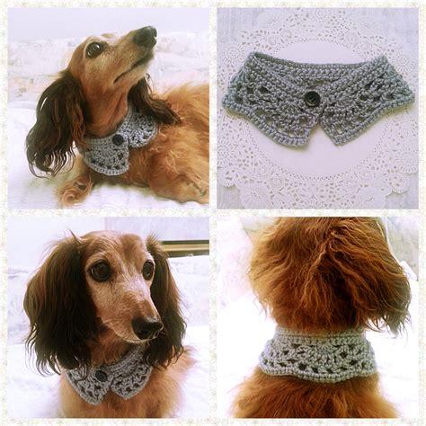 crochet dog scarf dog collar dog bandana dog cowl cat