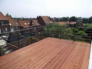 installation thermique toiture terrasse bois accessible With toiture terrasse bois accessible