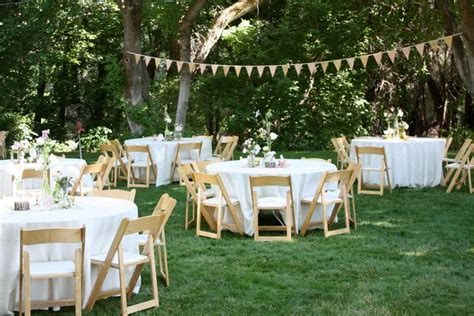 backyard wedding reception decoration ideas backyard bbq