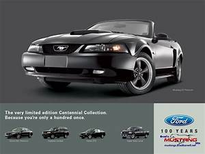 1999-2004 Mustang Ads