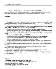 Sql Server Developer Resume Sle by Sle Resume For Oracle Pl Sql Developer 28 Images Sql