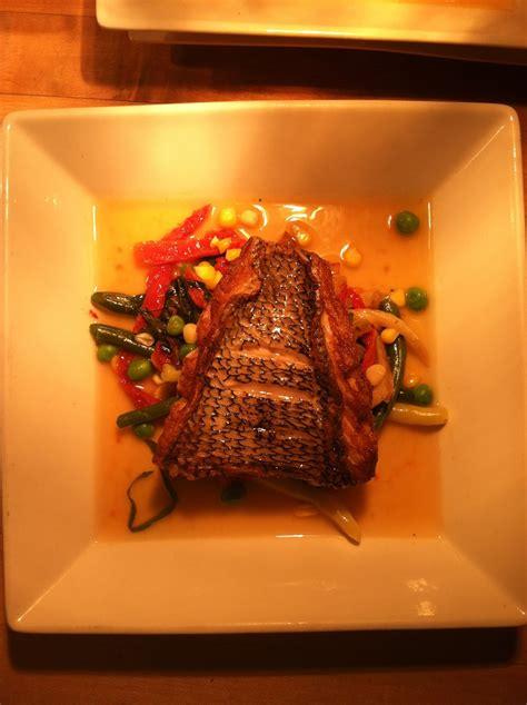 edible ocean crispy bass skin
