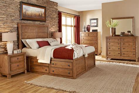 Rustic Bedroom And Newbury Wood Bedroom Collection Wood