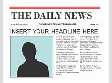 Newspaper Template For Openoffice Best Business Template