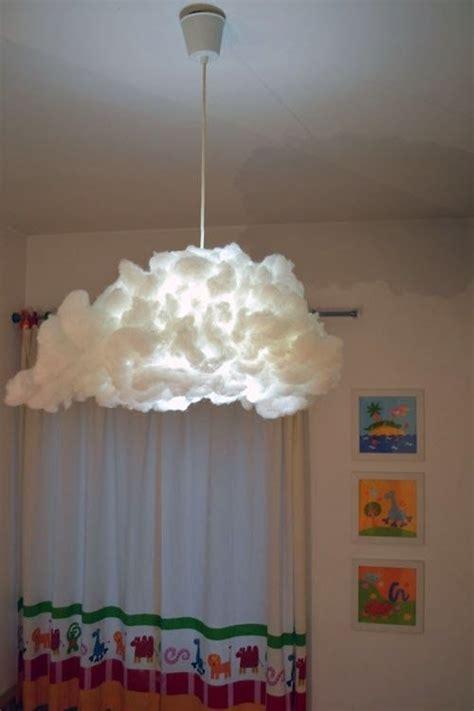 39. Cloud Lampshade   41 Borderline Genius ? Ikea Hacks