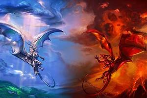 dragons fire and ice images more Fire and Ice wallpaper ...