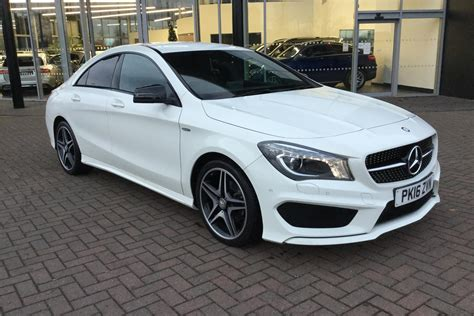It ranks toward the bottom of the extremely competitive luxury small car class. Used 2016 MERCEDES-BENZ CLA CLASS CLA 180 AMG Sport 4dr for sale in Nottingham | Pistonheads