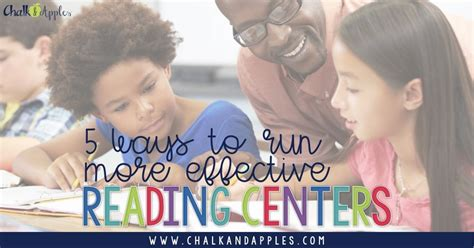 reading centers smoothly running ways keep