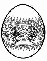 Easter Egg Coloring Designs Pages Eggs Printable Designing Sunday Drawing Netart Getcolorings sketch template