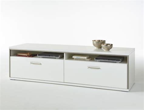 Lowboard Travis 8 Weiß Hochglanz 184x51x52 Cm Tv-möbel Tv