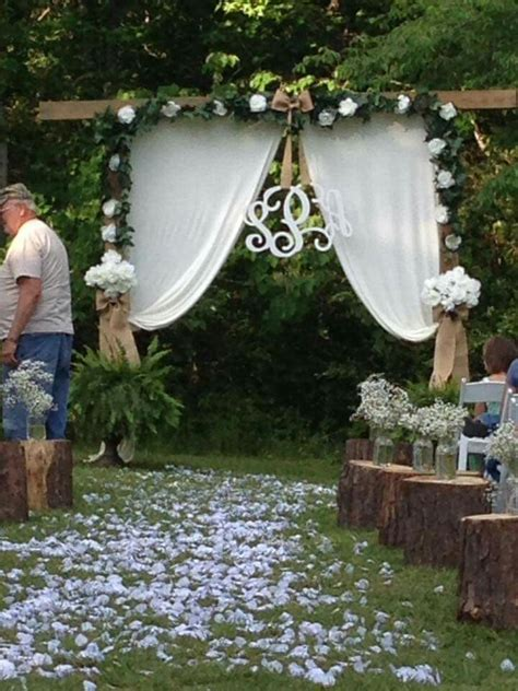 The 25 Best Small Backyard Weddings Ideas On Pinterest