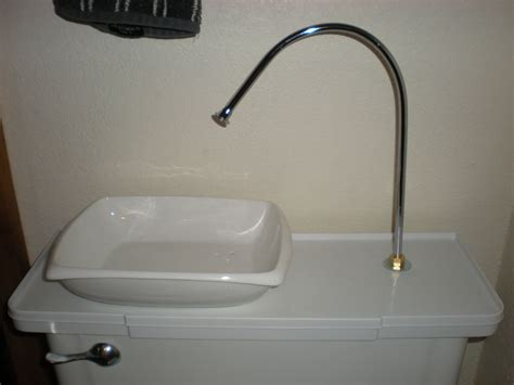 sink toilet tank hack a toilet for free water