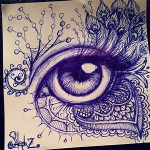 ballpoint pen doodles - Google Search | Zentangled ...