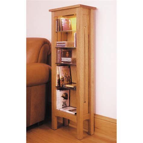 arts  crafts cd dvd storage rack woodworking plan