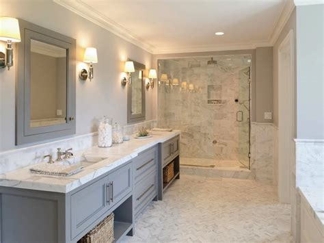 Marble Design Ideas Your Master Bath by Master Bathroom With Gray Marble Ideas