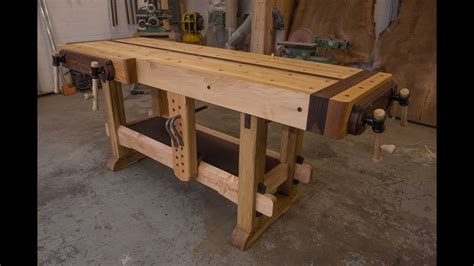 woodworking  samurai workbench youtube