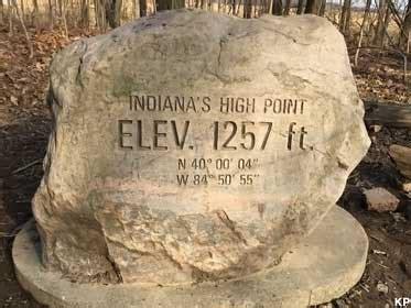 richmond  highest point  indiana