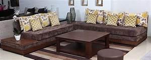 Banquette Marocaine Moderne : meuble ayoub maison et meuble kelibia zifef ~ Dode.kayakingforconservation.com Idées de Décoration