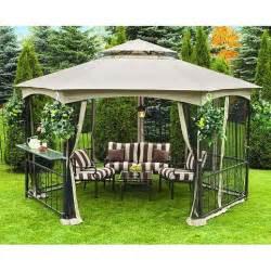 Outdoor Curtains Walmart Canada walmart canada sunjoy hexagon gazebo garden winds canada
