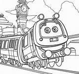 Chuggington Coloring sketch template