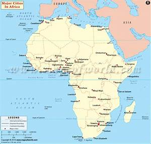 Cities in Africa | African Cities Map