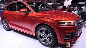 Audi Q5 S Line 2017 : 2017 audi q5 2 0t quattro s line exterior and interior walkaround debut at 2016 paris motor ~ Medecine-chirurgie-esthetiques.com Avis de Voitures