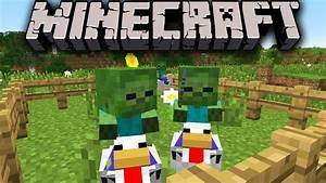 Minecraft 1.7.3 Snapshot: Chicken Jockeys Attack! Early ...